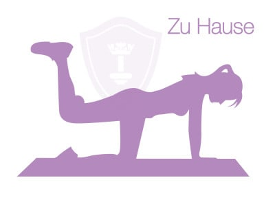Body Queen Training zu Hause