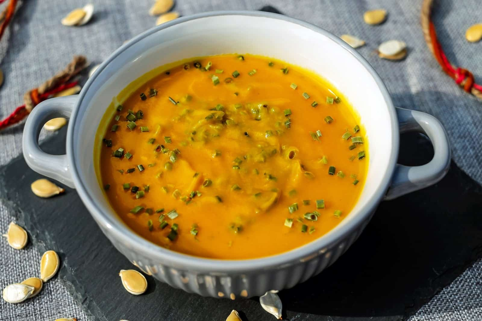Kürbis-Blumenkohl-Suppe