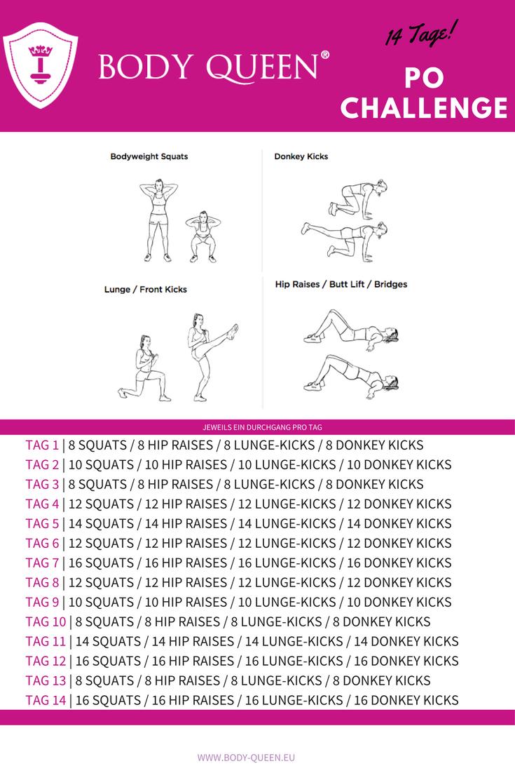 14 Tage Po-Challenge