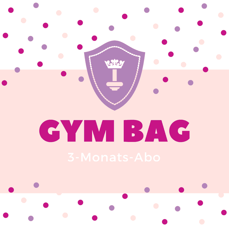 Body Queen Gym Bag - 3 Monats-Abo
