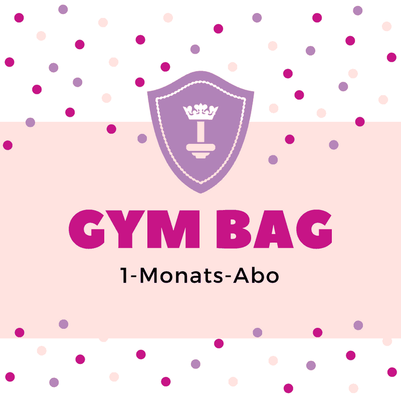 Body Queen Gym Bag - 1 Monat
