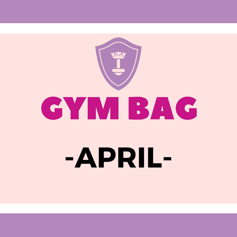 Body Queen Gym Bag #April