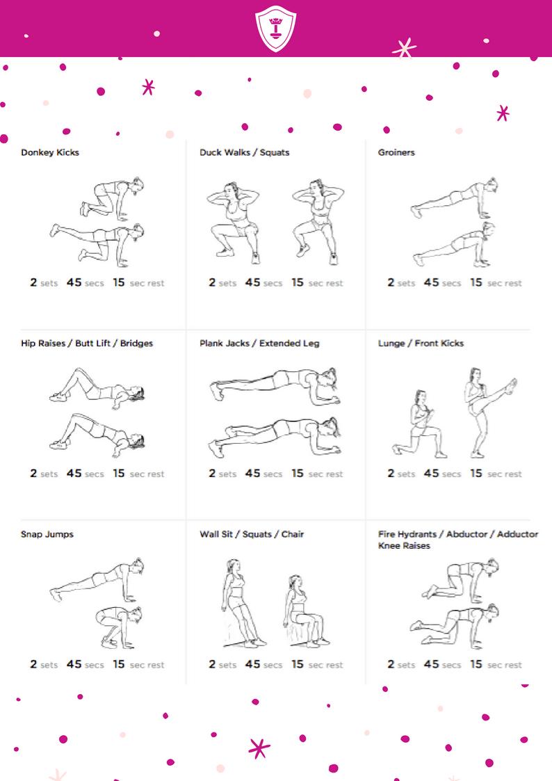 Sexy Beine und Po mit diesen Übungen
