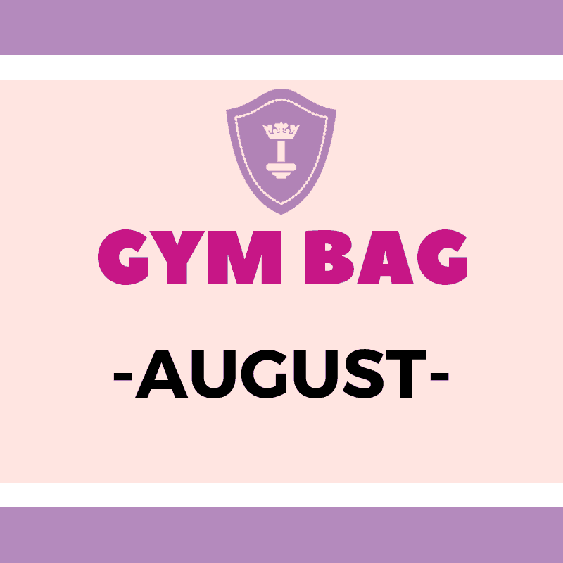 Body Queen Gym Bag #August