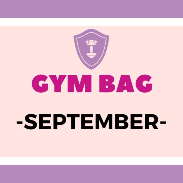 Body Queen Gym Bag #September