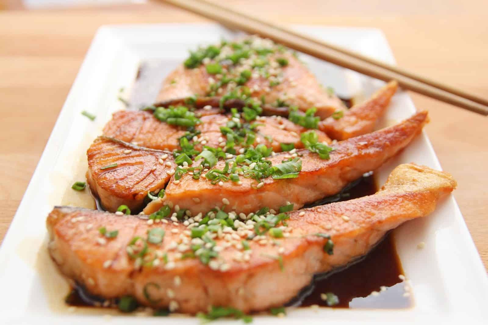 Fisch gesunde Fette und Proteine