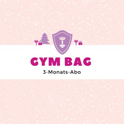 Body Queen Gym Bag - 3 Monate