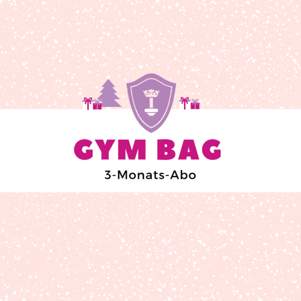 Body Queen Gym Bag - 3 Monate