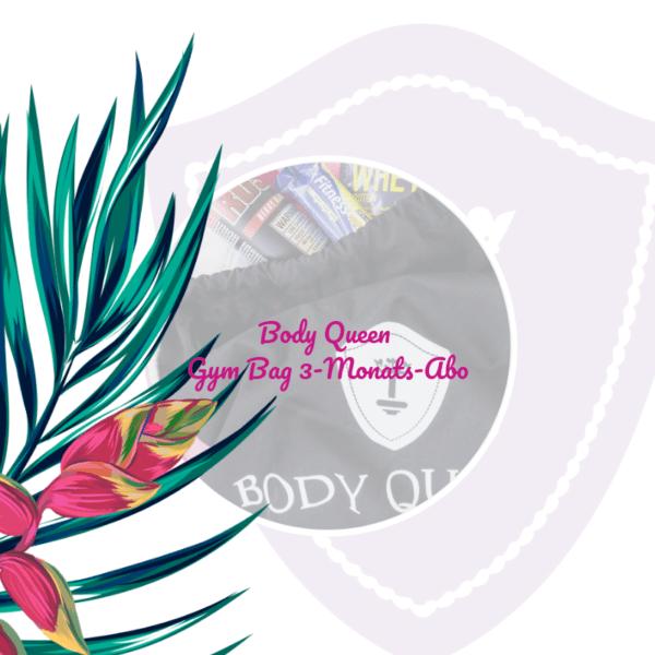 Body Queen Gym Bag - 3 Monats-Abo