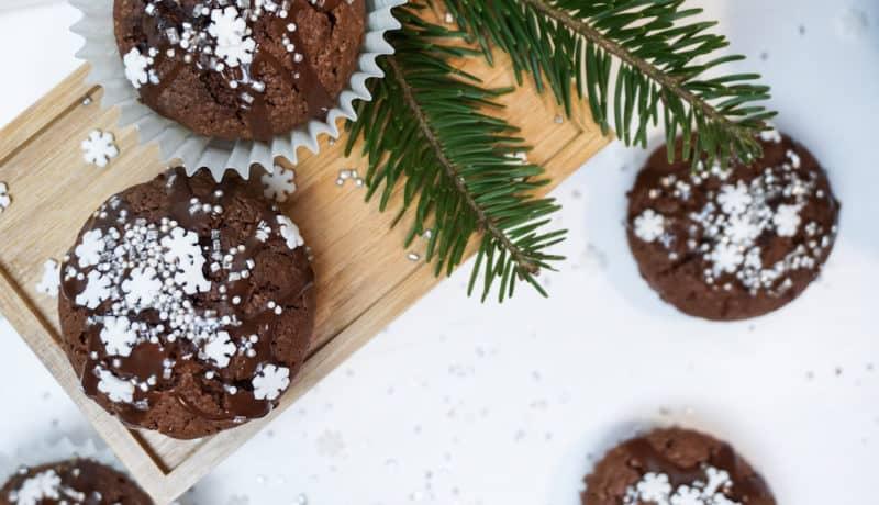 Sugarfree Christmas Cupcakes