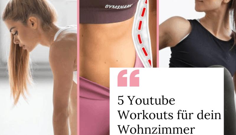 5 Youtube Workouts für dein Wohnzimmer